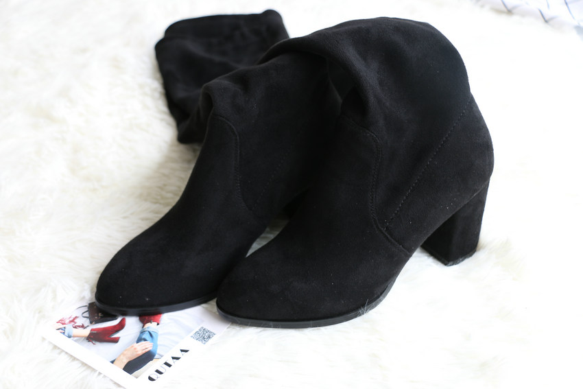 Women Over The Knee High Heel Winter Sexy Boots 38