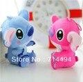 "7.87"" 20cm 2pcs/lot Stitch Doll Lovers Toys Plush toys Wholesale wedding Gift  Free Shipping"
