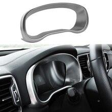 Для KIA Sportage 4 QL 2016 2017 2018 стайлинга автомобилей интерьера приборная панель Панель Экран рамка Обложка отделка украшения Стикеры