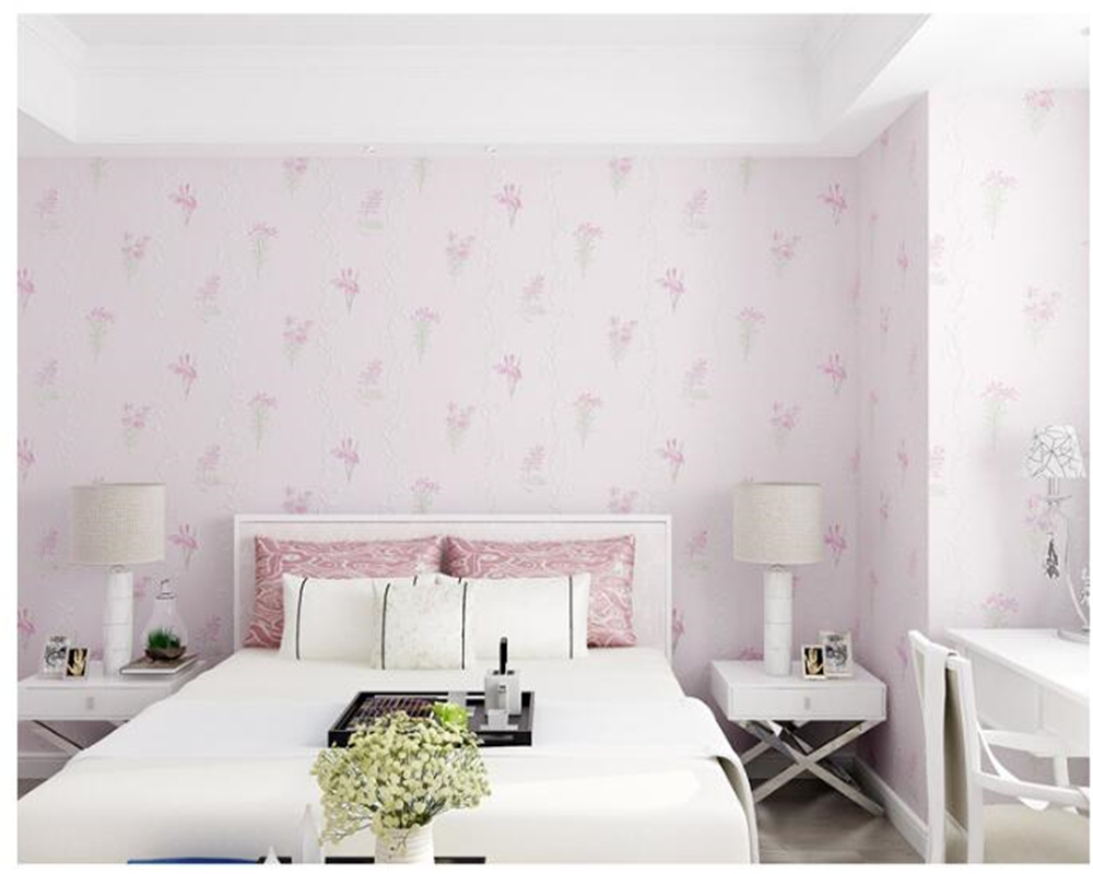 beibehang European fine pressed Rural flower 3D three-dimensional non woven wallpaper romantic warm living room wallpaper tapety beibehang warm pink girl room wallpaper children s room non woven three dimensional love childrens clothing shop wallpaper