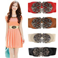 Coolbeenr Fashion New Fashion Accessories Alloy Flower Vintage Leather Belt Belt Straps For Women Dec8