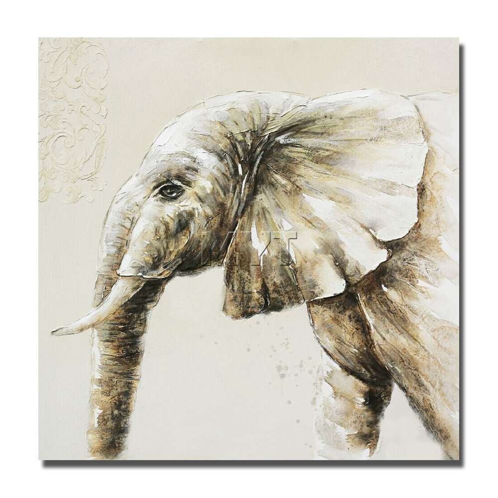 New Design Elephant Painting Modern Decoration Wall Art Living Room ...