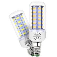 CanLing GU10 LED Bulb 220V E27 Corn Light E14 Candle Lamp 3W 5W 7W 9W 12W 15W Energy saving Bulbs For Home AC200V-240V