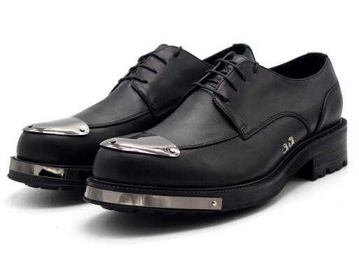 Casual Brogue Genuino Encaje Cuero Italia Negocios Hecho Zapatos Vestido De Formal Hombre Hasta Superior Derby 1 Mano Primavera A Prom aqxp4pw1