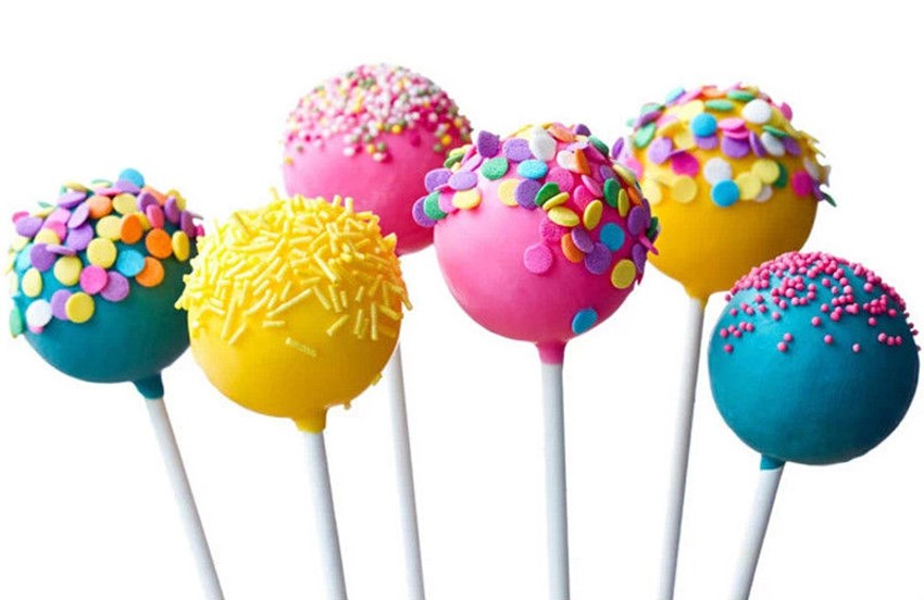 Image 5 - 100 pcs Pop Sucker Sticks Chocolate Cake Lollipop Lolly Candy Making Mould White-in Other Cake Tools from Home & Garden