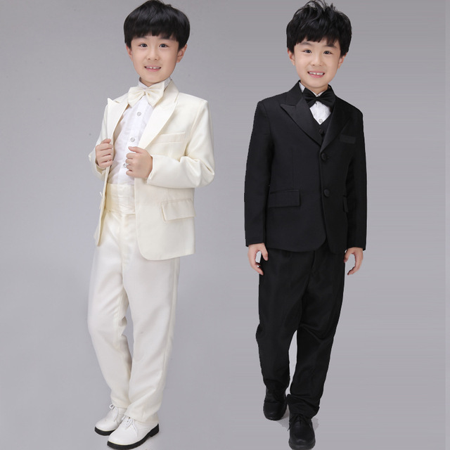 511486956 FR20 Children's Clothing Small Boys Suit Flower Girl Dresses Han Edition  Children Wedding Anniversary Costumes Boy Suits