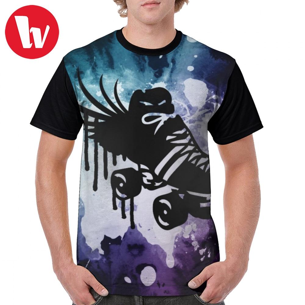 Long Sleeve Shirt Roller Derby Heartbeat Tee Shirt Design
