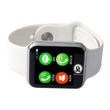 Bluetooth Smart Часы SmartWatch для Apple iPhone iOS смартфонов на базе Android выглядит как Apple Watch Reloj inteligente