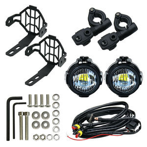 Image 5 - 2PCS 40W LED Auxiliary Lamp 6000K Super Bright Fog Driving Light Kits LED Lighting Bulbs DRL for Motorcycle BMW K1600 R1200G