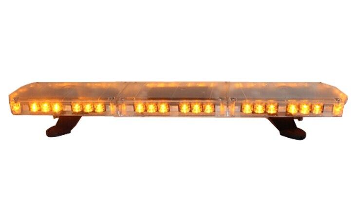 Nouzová světelná lišta pro vyšší hvězdu 90cm 46W Led, blesková světla, výstražná světelná lišta s ovladačem pro policejní sanitku, vodotěsná