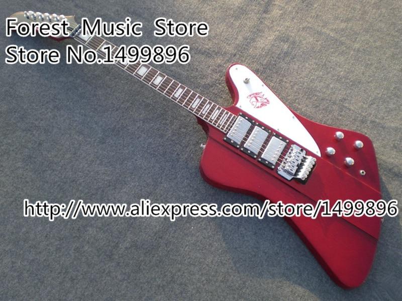 Meistverkaufte Rot Drei Pickups Firebird E gitarre Mit Floyd Rose ...