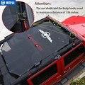 MOPAI/автомобильные аксессуары для Jeep Wrangler JK 2007  защита от УФ-лучей  2/4