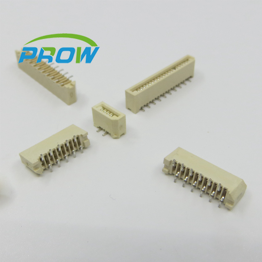 1mm FPC FFC flexible ribbon cable connector socket pitch 1.0 mm 5p 10p 15p 20p 25p 26p 28p 4p 30p vertical SMD SMT