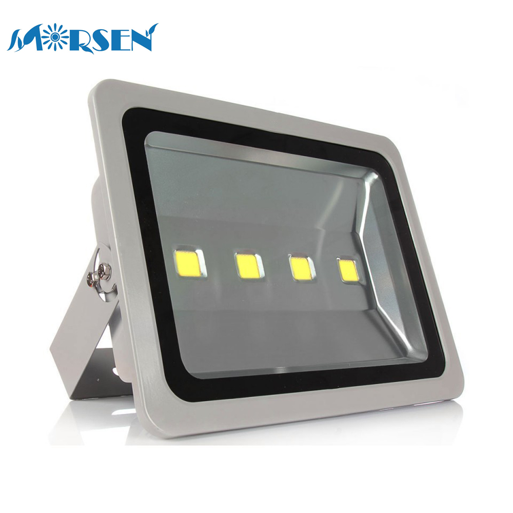 4pcs Led Flood Light 200W 300W 400W 500W Led Floodlight Outdoor Waterproof IP65 Reflector Led Exterior Lamp Wall AC85-265V*15#25 4 200 4 200 500