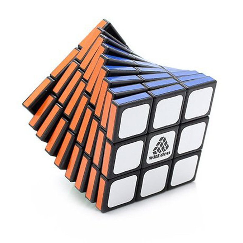 WitEden 3x3x9 Professional Magic Cube 58mm strange-shape Magic Cubes Anti Stress  Learning Educational Classic Toys Cubo Magico (2)