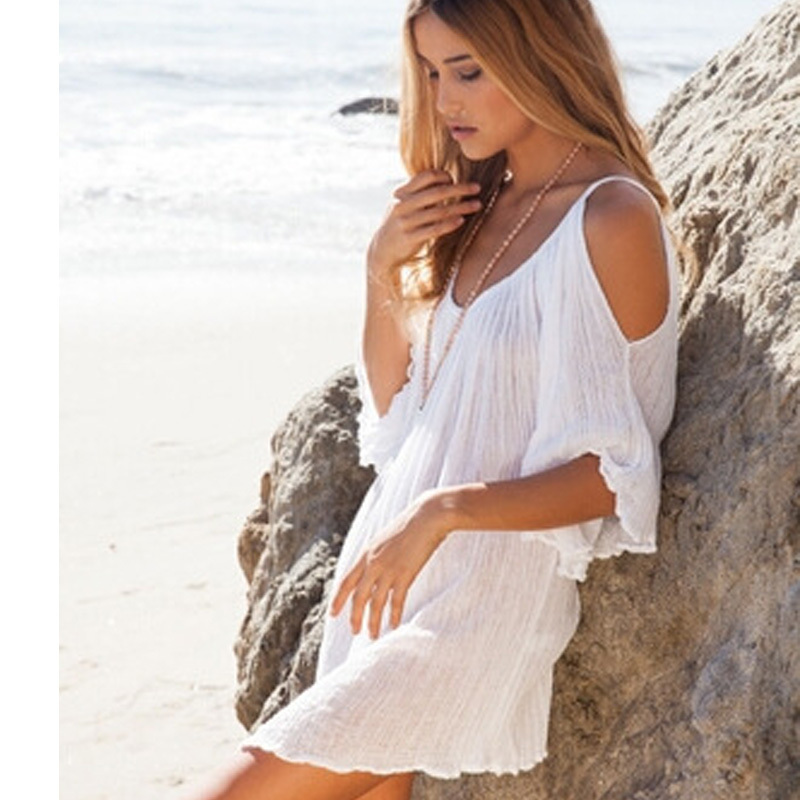 Women Summer Dress Bohemian Style Fashion Sexy Off The Shoulder Beach Loose Casual White New Arrival Clothing In Dresses From Womens