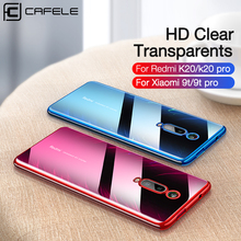 CAFELE Newest plating case for xiaomi 9t pro redmi k20 soft TPU ultra thin silicon transparent shining