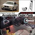 Car Accelerator Pedal Pad / Cover of Original Factory Sport Racing Model Design For BMW 7 Series F01 F02 2008~2015 Tuning