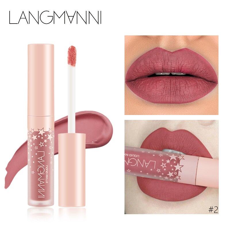 kyliejenner Matte Lipstick Long Lasting Waterproof lip gloss matte velvet liquid lipstick sexy red tint batom lips makeup N40 4