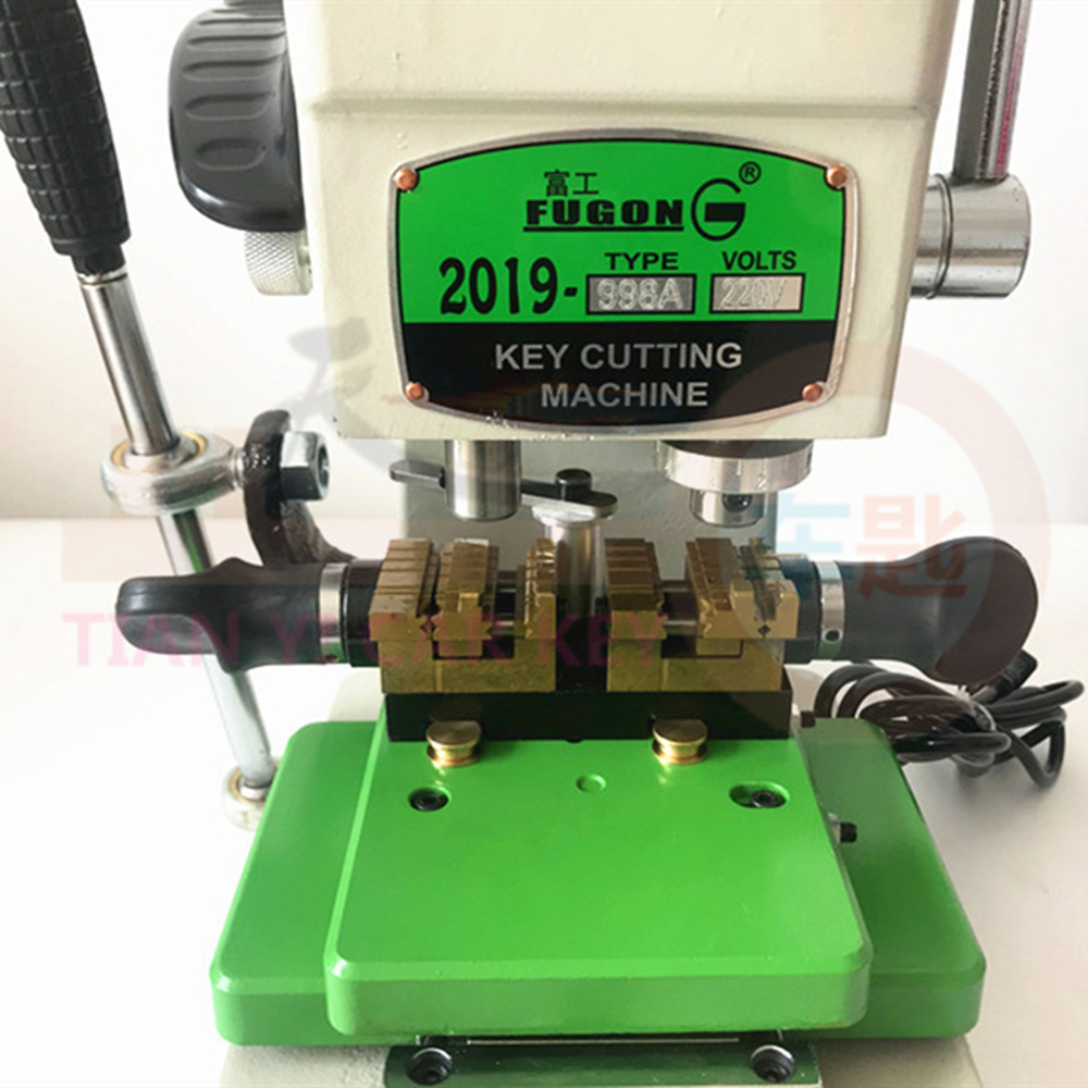 Image 4 - CHKJ High Quality Vertical Key Cutting Machine GOSO 998A 220v Key Cutter Copy Duplicating Machine Car Door KeyLocksmith Supplies   -