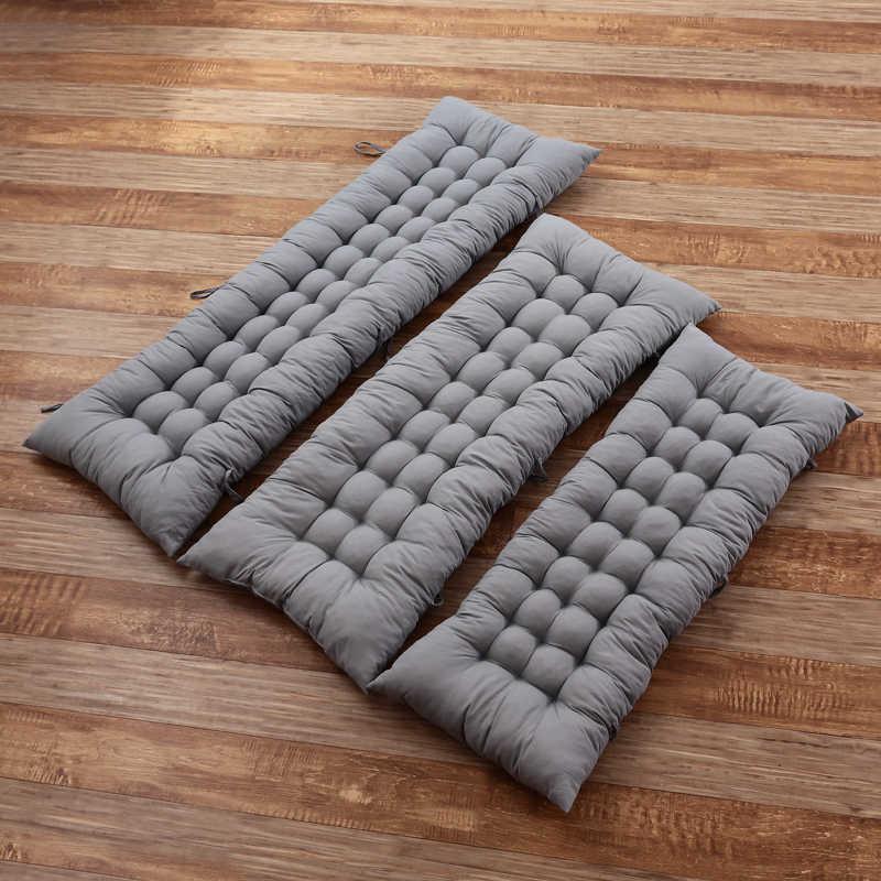 Poduszka 1pc grube długie siedzisko poduszki krzesło rattanowe poduszka na sofę ogród poduszka na krzesło mata Tatami krzesło poduszki darmowa wysyłka