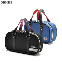 QEHIIE Korean Cute Travel Makeup Bags Fashion Oxford Hand Held Black Organizer Woman Cosmetic Cases Stationery Storage Package
