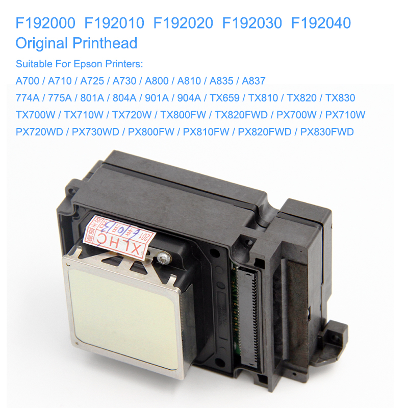 Image 2 - F192040 DX8 DX10 TX800 Print Head UV Printhead For Epson TX800 TX710W TX720 TX820 PX720DW PX730DW TX700W TX800FW PX700WD PX800FW-in Printer Parts from Computer & Office