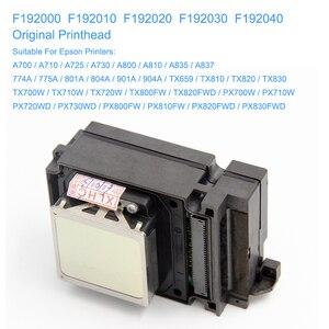 Image 2 - F192040 DX8 DX10 TX800 プリントヘッド、 Uv エプソン TX800 TX710W TX720 TX820 PX720DW PX730DW TX700W TX800FW PX700WD PX800FW