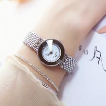 New Fashion bracelet watch Luxury Silver Watch Women Quartz Watch Date Clock Female Ladies Watches Wristwatches relogio feminino