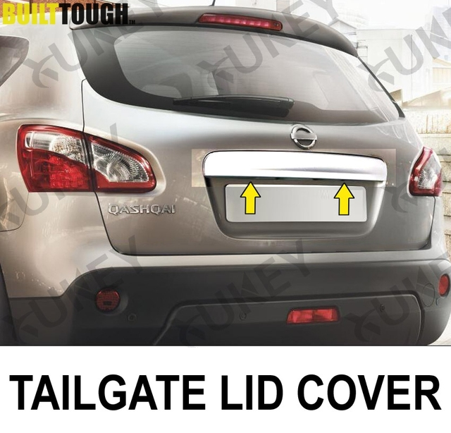 tailgate grab handle cover for nissan qashqai j10 2007. Black Bedroom Furniture Sets. Home Design Ideas