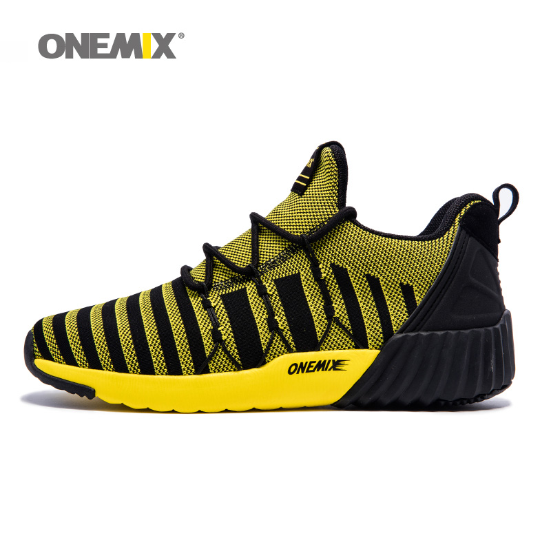 ONEMIX Man Running Shoes for Men Mesh Breathable Trail Road Walking Sneakers Outdoor Sports Boots Athletic