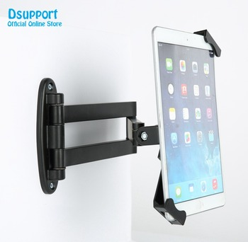 Universal tablet PC stand wall mount for 7 to10.1 inch tablet pc stand with security lock anti-theif tablet pc stand