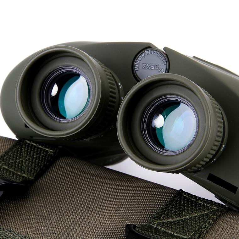 Aukšto lygio profesionalūs 7X50 kariniai žiūronai, pilni azoto - Kempingai ir žygiai pėsčiomis - Nuotrauka 6