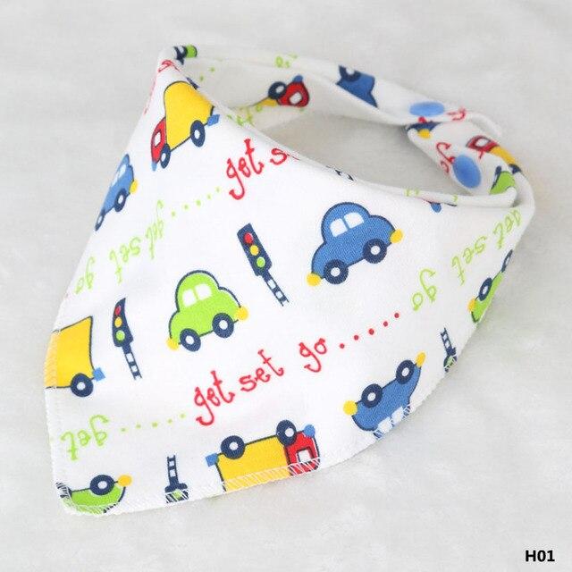 1 шт. шарф дети детские нагрудники Baberos Babador бандана Слюнявчики Babeiro Slabbers для девочек и мальчиков комбинезон 6 видов стилей