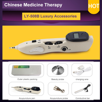 2017 NEW Electric Acu Meridian Pen Electronic Acupuncture Pen Point Detector Acupressure Massage Pain Therapy Face Care Health