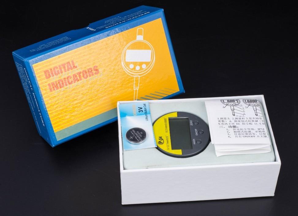 IP54 Olejoodporny mikrometr cyfrowy 0,001 mm Mikrometr elektroniczny - Przyrządy pomiarowe - Zdjęcie 6