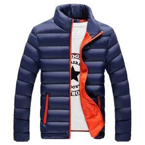 Image 5 - RUELK ฤดูหนาวแจ็คเก็ตชาย 2019 แฟชั่น Stand Collar Parka Jacket Mens หนาแจ็คเก็ตและ Coats ชายฤดูหนาว Parkas m 6XL