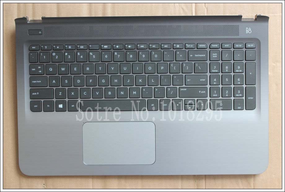 New English Laptop keyboard For HP Pavilion 15-ab137ca 15-ab188ca 15-ab120ca 15-ab121ca 15-ab122ca With shell Black US keyboard laptop keyboard for acer silver without frame united kingdom uk v 121646ck2 uk aezqse00110