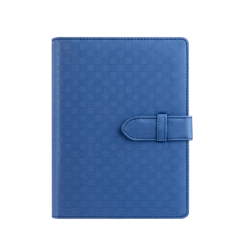 good quality PU leather cover notebook PU leather buckle business planner with pen credit cards holder lined pages high quality pu cover a5 notebook journal buckle loose leaf planner diary business buckle notebook business office school gift