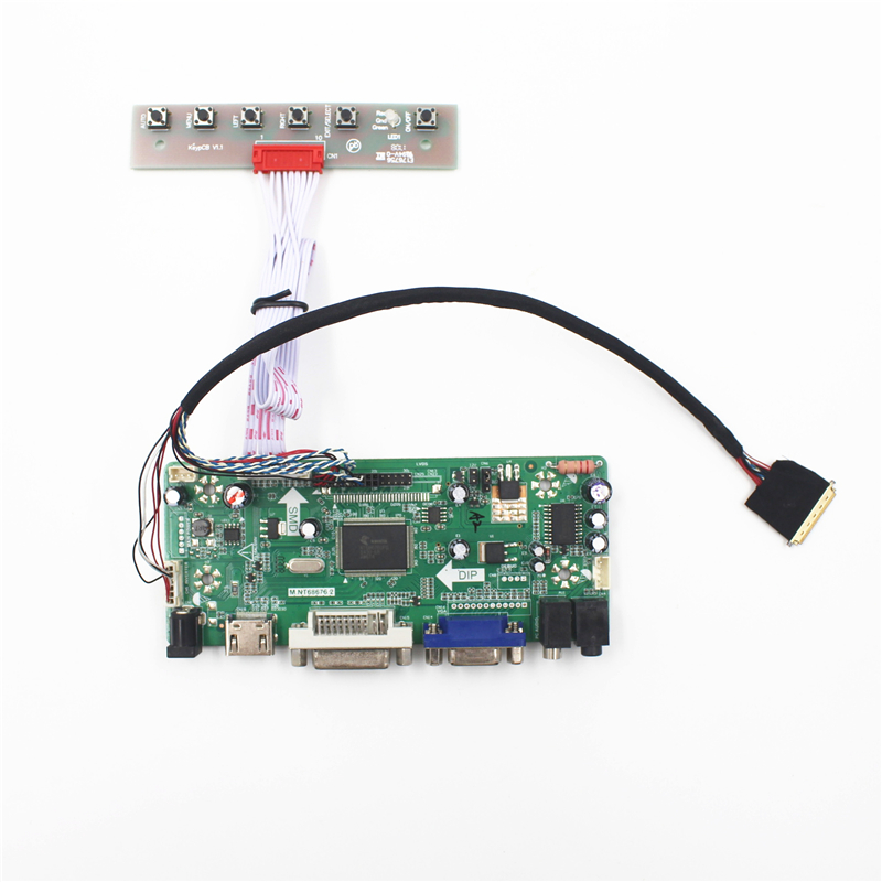 LCD LED controller Driver Board Lvds Monitor kit for N116B6-L02 HDMI+DVI+VGA