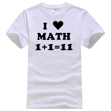 "Very funny ""I Love Math"" women shirt"
