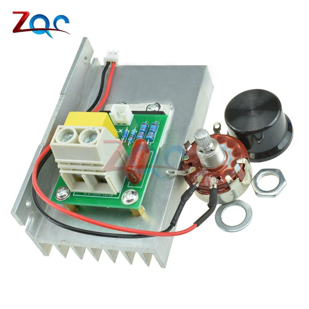 220V 10000W SCR Voltage Regulator Motor Speed Controller Dimmer Thermostat