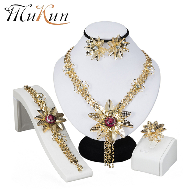 Mukun Turkish Costume Jewelry Sets In Nigerian Wedding Dubai African