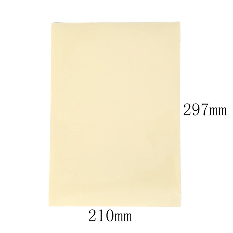Купить с кэшбэком 10 Sheets A4 Self Adhesive Sticker Label Matte Surface Paper Sheet for Laser Inkjet Printer Copier Craft Paper