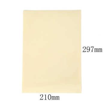 10 แผ่น A4 Self Adhesive สติกเกอร์ Matte พื้นผิวแผ่นกระดาษสำหรับเลเซอร์อิงค์เจ็ทเครื่องถ่ายเอกสารกระดาษหัตถกรรม