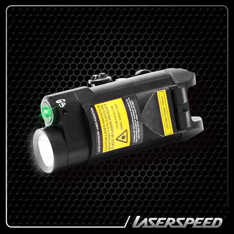 Hunting Laser Rifle Scope Green Laser Flashlight Combo 100Lumen LED Gun Light And Green Laser Sight Laser Para Pistola