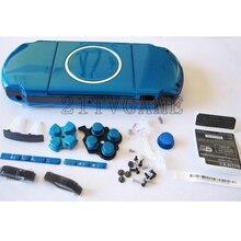 قطع غيار وحدة التحكم في الألعاب لـ PSP3000 PSP 3000 غطاء وحدة التحكم في الألعاب مع طقم أزرار