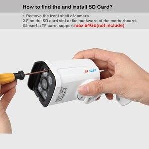 Image 5 - Besderアルミニウム金属ケースセキュリティビデオipカメラワイヤレス 1080 1080p P2P rtspクロームインタフェースcctvカメラipのwi fi sdカードスロット