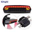 Велосипедное седло USB Перезаряжаемый велосипедный задний фонарь LED велосипедный задний фонарь Аксессуары для велосипеда luces bicicleta велосипе...