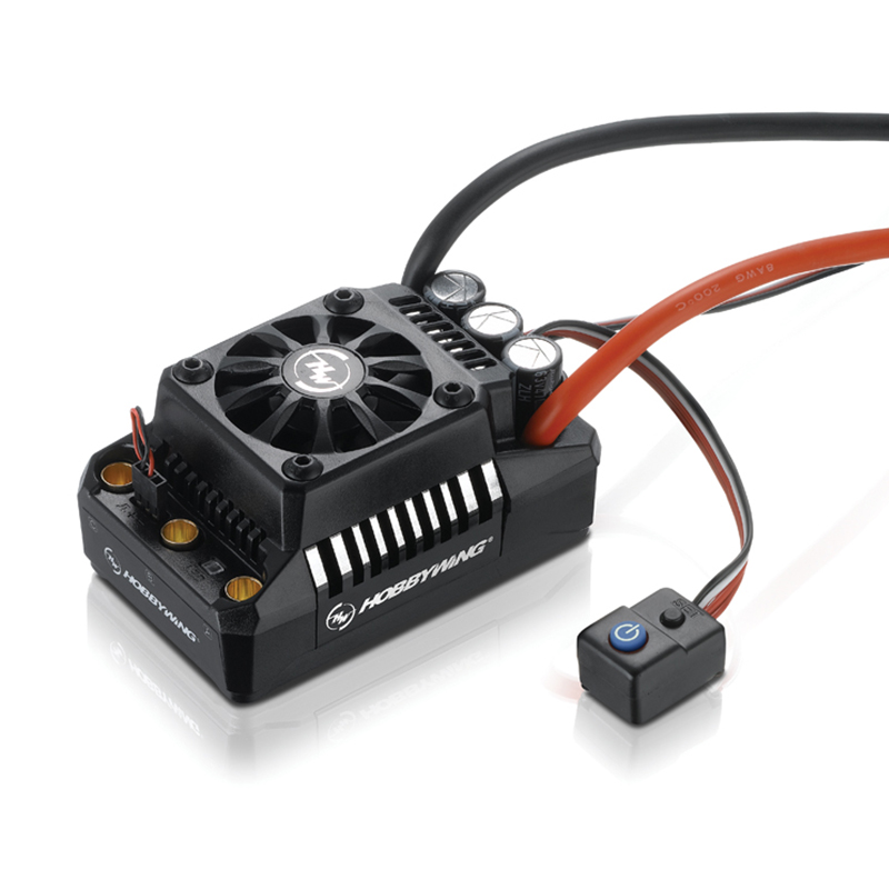 FATJAY Hobbywing EzRun MAX5 V3 200A brushless waterproof ESC 3-8S High Voltage Built-in BEC for RC 1/5 Touring Car Buggy TruckFATJAY Hobbywing EzRun MAX5 V3 200A brushless waterproof ESC 3-8S High Voltage Built-in BEC for RC 1/5 Touring Car Buggy Truck